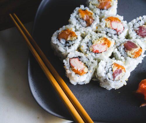 Sushi superbild