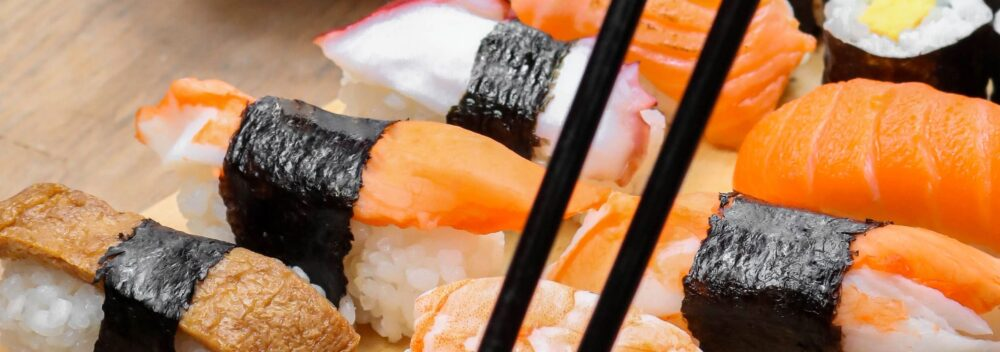 Kontakta oss för sushi